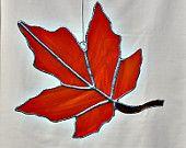 Brown Maple Leaf. $20.00, via Etsy.