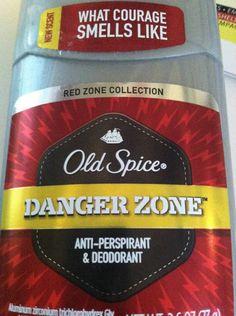 I found Sterling Archer's brand of deodorant.