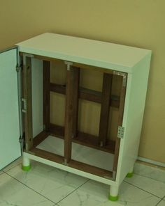 Fish, Plants, and Hamsters: Turning Ikea Cabinet into a viable Aquarium Stand