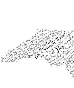 State of North Carolina Hand Lettered Wagon Wheel Lyrics Art Print / State Shape Artwork Digital Dow Old Crow Tattoo, Lyric Art, Song Lyrics, Old Crow Medicine Show, Wagon Wheel, Sweet Words, Frame It, Sleeve Tattoos, North Carolina