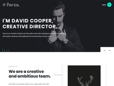 FORZO is a creative, beautiful and minimalistic Creative Free HTML Template designed for photographers and portfolio. In it you can exhibit their work in a portfolio, you can also use it as a journal or a personal blog.