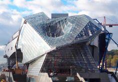 Vista de la cubierta del museo. El nuevo Musée des Confluences, por Coop Himmelb(l)au. Fotografía @ Duccio Malagamba. Imagen cortesía de Coop Himmelb(l)au. Señala encima de la imagen para verla más grande.