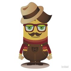 Hipster Minion