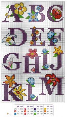 Xmas Cross Stitch, Cross Stitch Heart, Cross Stitch Flowers, Cross Stitching, Cross Stitch Embroidery, Cross Stitch Alphabet Patterns, Cross Stitch Letters, Cross Stitch Designs, Charm Quilt