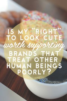 LIZ MORROW | Delightfully Tacky: candid thoughts on ethically produced clothing