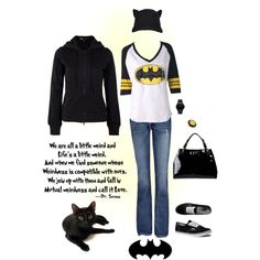 I'm Batman., created by izjustagirl on Polyvore
