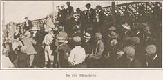 The bleachers at the baseball field 1911.  From the 1913 Oregana (UO yearbook).  www.CampusAttic.com