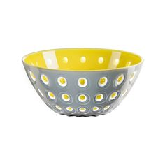 This Guzzini Bowl is an attractive and practical everyday serving bowl, ideal for a wide array of different foods. A versatile container but can also Grey Bowls, Centre Pieces, Salad Bowls, Different Recipes, Serving Bowls, Decorative Bowls, Container, Yellow, Tableware