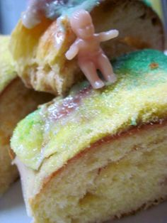 Thanks @Julia McAndrew for providing the King Cake and getting us psyched for Mardi Gras laissez le bon temps rouler!