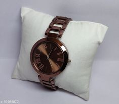 Checkout this latest Watches Product Name: *trendy women's colorful watches* Strap Material: Metal Display Type: Analogue Size: Free Size Multipack: 1 Country of Origin: India Easy Returns Available In Case Of Any Issue   Catalog Rating: ★4.1 (342)  Catalog Name: Attractive Women Watches CatalogID_1913052 C72-SC1087 Code: 402-10484072-024