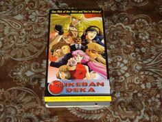 Sukeban Deka 1 (VHS, 1996) Rare OOP ADV Films Anime! English Subtitled Version!