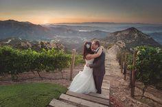 Tuscany Wedding | Wedding Portraits in the Vineyards | Luxury Estate Weddings and Events |