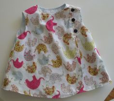 Animal Crackers Baby Girl Dress - Six Months. $40.00, via Etsy.