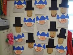 President's Day Crafts - George Washington & Abraham Lincoln! :)