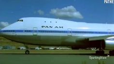 Pan Am's New Boeing 747 Commercial (in color) - 1969