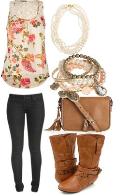 """First week of school"" by onetoughcupcake ❤ liked on Polyvore"