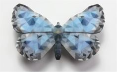 """Designer Janne Kyttanen's 3D Printed """"Butterfly Effect"""" Collection Now Available on Cubify http://3dprint.com/52879/3d-printed-butterflies/"""