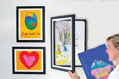 I Am Momma - Hear Me Roar: Displaying Your Child's Art