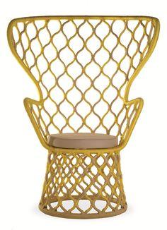 Painho Armchair, designed by Fetiche Design and Marcelo Rosenbaum - Milan Design Week.