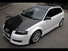 Audi A3 S3-OSIR -Hood-Double Sided-Gloss Carbon-A3 8P