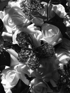 Vintage brooches always bode well with a bouquet, especially if they're sentimental.