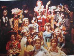 Christmas Pantomime ar Dickens Fair in San Francisco.