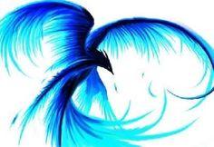 @curlybeauty00 - Blue Green Bird Tattoo Idea