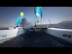 Get ready for summer! - YouTube - With summer just round the corner why don't you come down to our test center and experience guaranteed fun on our catamaran the RS CAT16 - available for rentals, lessons & purchase.  The RS CAT16 is a recent addition to the RS Range and our first catamaran. Easy to handle, exciting and highly durable the RS CAT16 is perfect for sailing schools, beach clubs and family recreational sailing #dubai