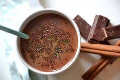 Recette - Chocolat chaud maison au thé noir et matcha | Notée 4.3/5