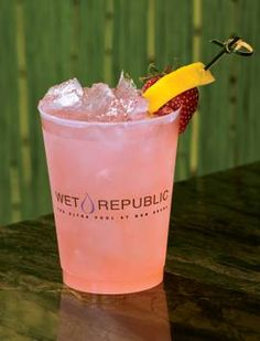 Wet Republic's Skinny Dippin. Skip the guilt:  Absolut Grapevine, Minute Maid Light. Recipe!