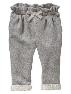 Baby Girls' Pants: organic knit pants, corduroy pants, leggings at babyGap Baby Girl Pants, Girls Pants, My Baby Girl, Baby Love, Baby Girls, Baby Girl Fashion, Kids Fashion, Fall Fashion, Baby Boy Outfits