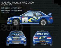 Resultado de imagem para 2000 Subaru WRC