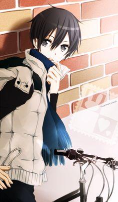 Kirigaya Kazuto (Kirito) | Sword Art Online #anime http://www.pixiv.net/member_illust.php?mode=medium&illust_id=39836261