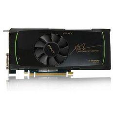 PNY VCGGTX570XPB-CG GeForce GTX570 1280MB DDR5 PCIE Video Card Dual DVI/DisplayPort/HDMI by PNY. $319.78