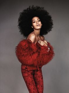 """I'm not having a bad hair day, I'm having a really good shoulder day & my hair just pales in comparison!"" (by Tytys-Ts)         ----------------- by Solange Knowles"