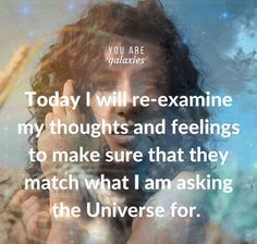 Thoughts in the Universe. Manifesting.