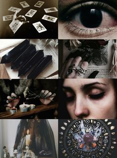 "mypieceofculture: "" Witch Aesthetics // Divination Witch ""Requested "" Chaos Witch 