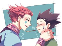 OMG nooo hisoka why are you so creepy and amazing