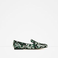 Image 2 of JACQUARD LOAFERS from Zara