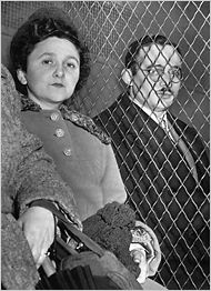 Julius & Ethel Rosenberg were American communists who were convicted and executed on June 19, 1953, for conspiracy to commit espionage during a time of war. Their charges were related to the passing of information about the atomic bomb to the Soviet Union. This was the only execution of civilians for espionage in United States history.