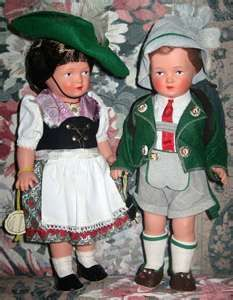 Vintage Celluloid Dolls from Germany
