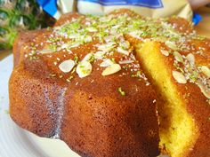 Persian Saffron Cake – To Bake or Study?