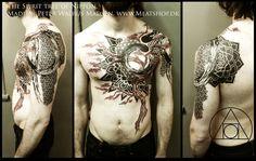 Spirittree of Nippon tattoo by Meatshop-Tattoo.deviantart.com on @deviantART