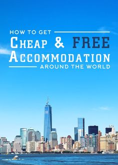 It is absolutely possible to score cheap and free accommodation around the world. Here's a comprehensive list of accommodation options that you can use! | via http://iAmAileen.com/free-accommodation-cheap-travel/ #travel #tips #hotel