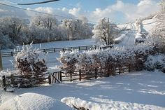 white christmas in the country.....
