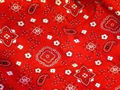 Urquid Linen Blog: Bandana Print