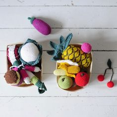 Madame Chacha // crochet food by See U Later seeulater.fr