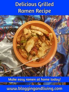 Delicious Grilled Chicken Ramen Noodle Recipe   Easy Ramen Noodles - Delicious Food .. Try out this ramen stir fry today! It is a great college recipe and dinner recipe that anyone can create if they're in the mood for ramen. New Recipes, Recipies, Dinner Recipes, Favorite Recipes, Ramen Noodle Recipes, Ramen Noodles, Chicken Ramen Recipe, How To Make Ramen, College Meals