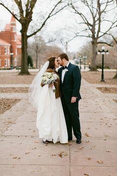 Ole Miss Wedding Oxford Floral Co. Mississippi Wedding Aleshia Landon 18 - B Flint Photography - midsouthbride.com
