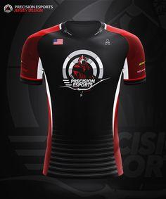 JERSEY ESPORT TEAM MOCKUP on Behance | Sport shirt design ...